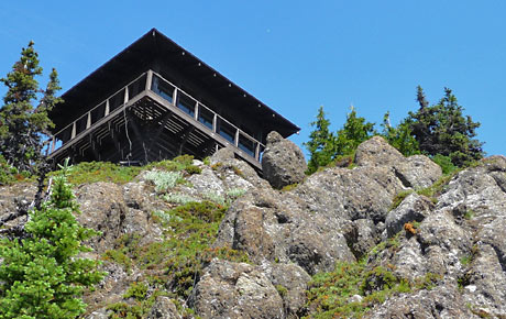 THE GOBBLER'S KNOB LOOKOUT