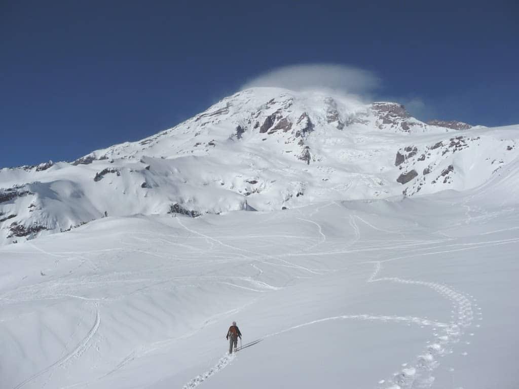 Snowshoe Mt. Rainier's Glacier Vista