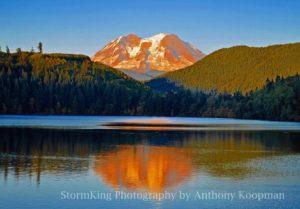 Mineral Lake at Mt Rainier
