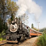 Steam Train Rides Departing From Elbe, WA