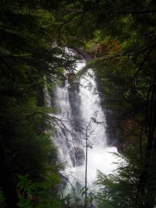 Nearby Carter Falls © Ken Campbell