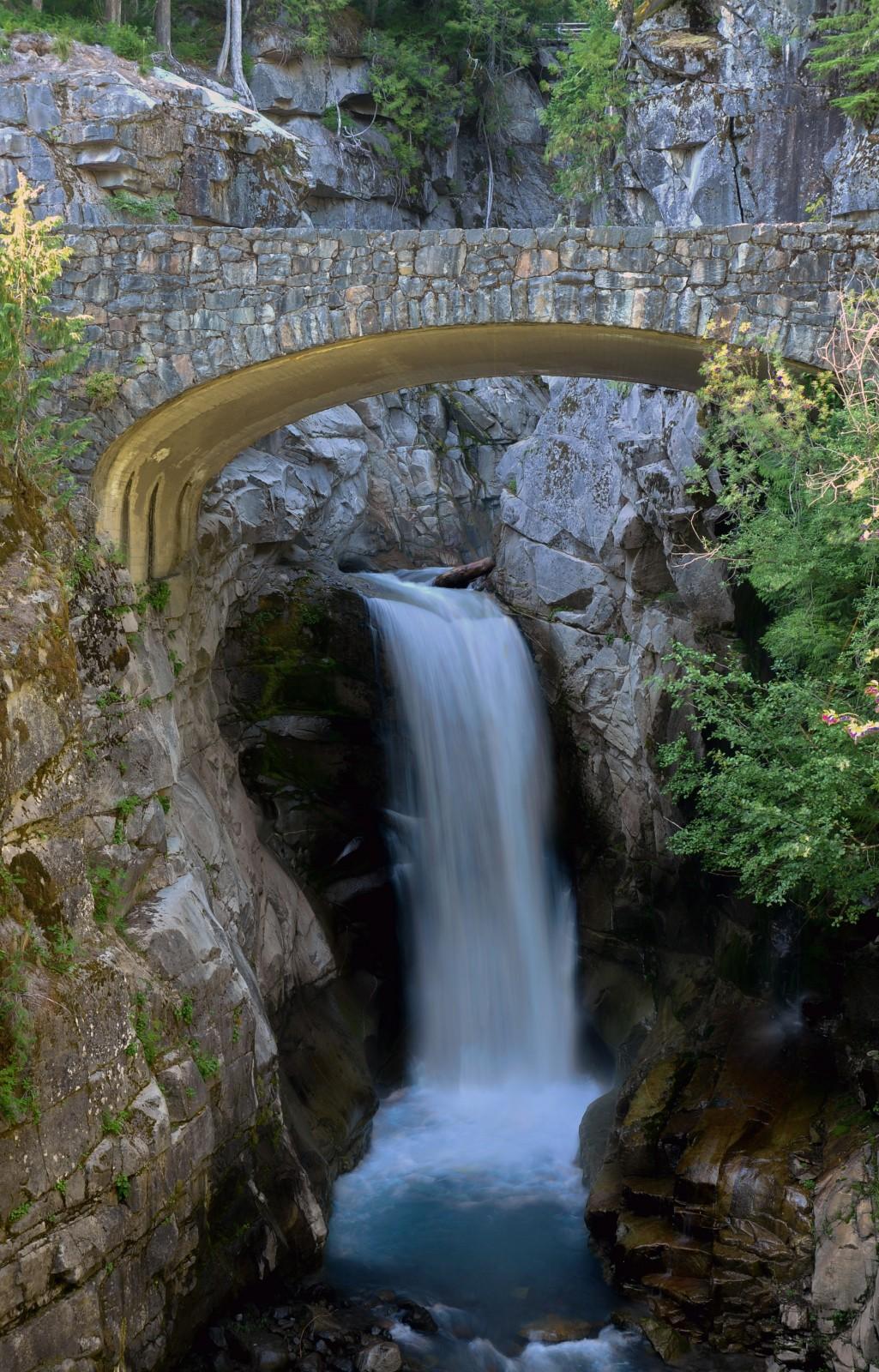 Christine Falls At Mount Rainier National Park Visit Rainier