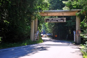Nisqually Entrance at Mt Rainier