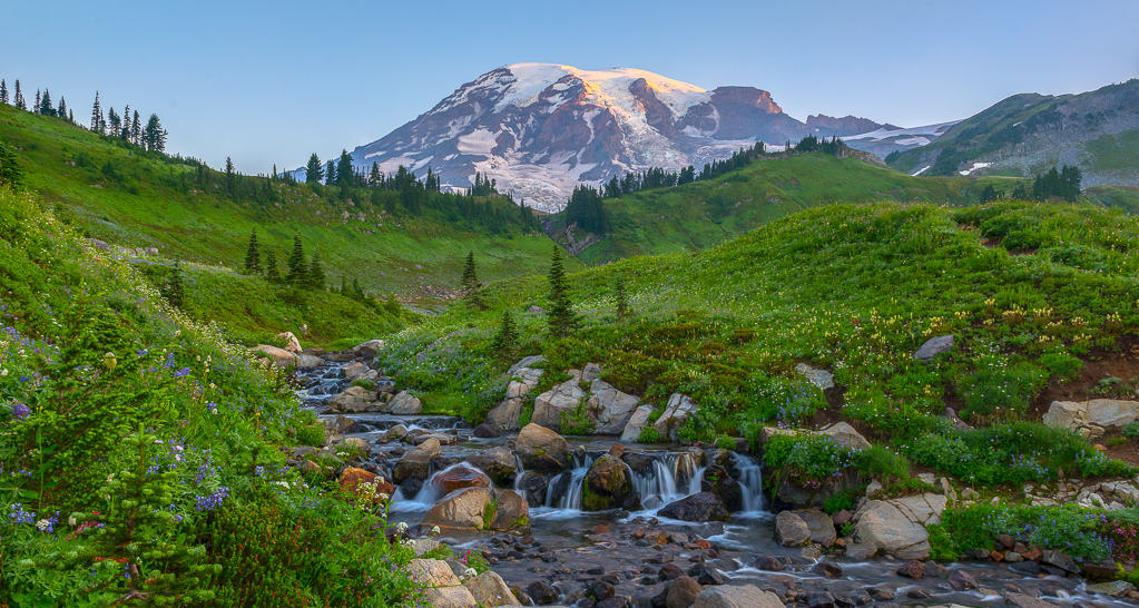 Mount Rainier Scenic Signature Shot