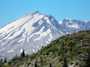 Another view of Mount St Helens
