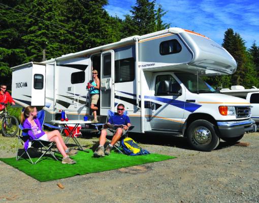 Crystal Mountain Camping