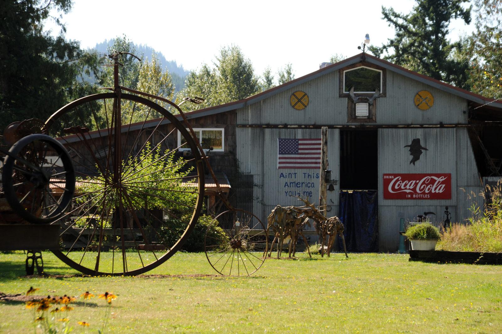 Ex Nihilo Sculpture Park Visit Rainier