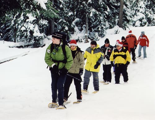 Snowshoe at Crystal Mountain Resort