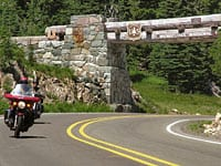 The Archway Marking the Summit of Chinook Pass © Chinook Byway