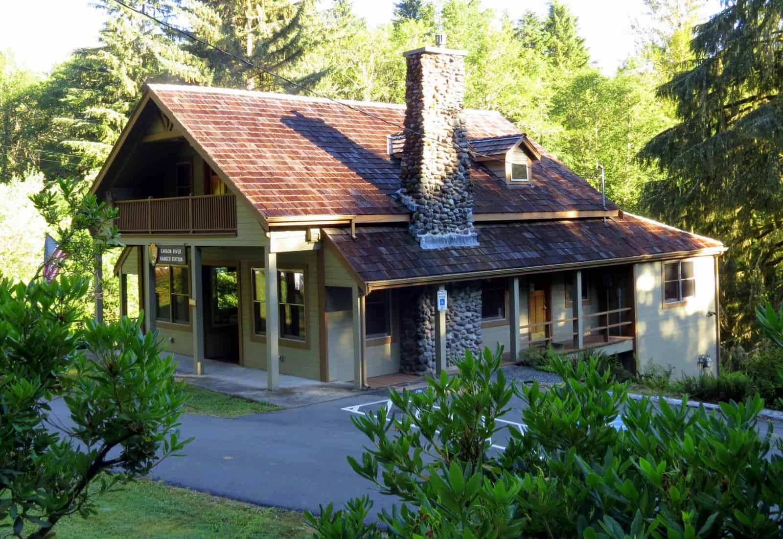 Exterior of Carbon River Ranger Station