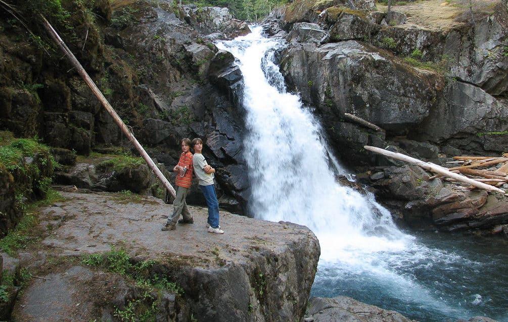 Silver Falls at Ohanapecosh