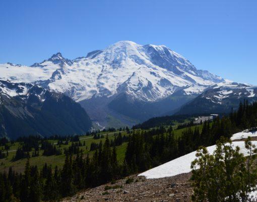 View from Sourdough Ridge