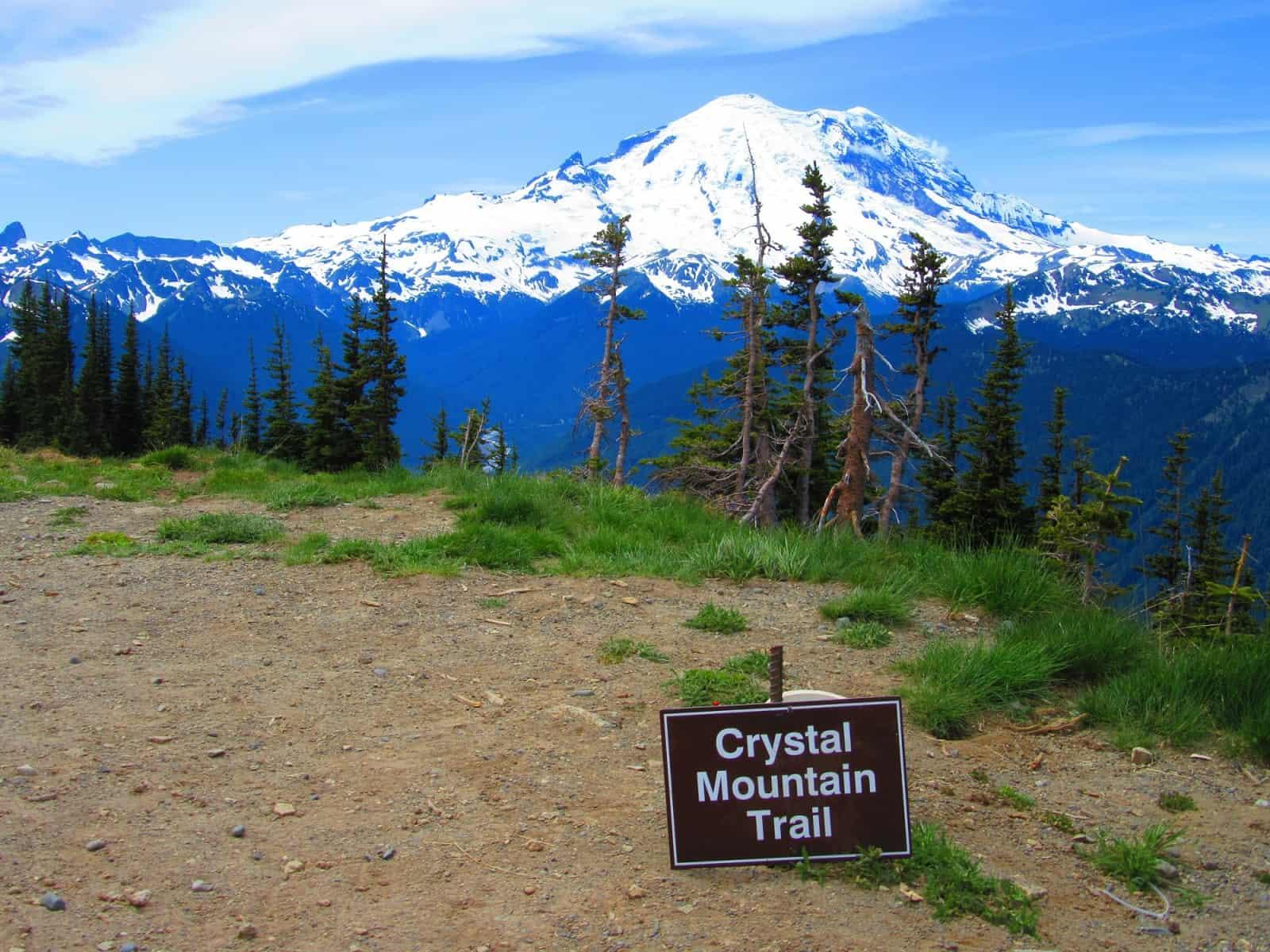 Crystal Mountain Loop Visit Rainier