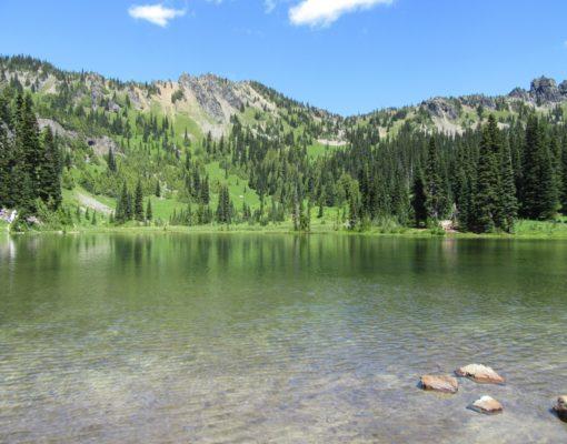 Sheep Lake / Sourdough Gap