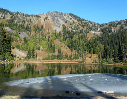 Sheep Lake / Sourdough Gap