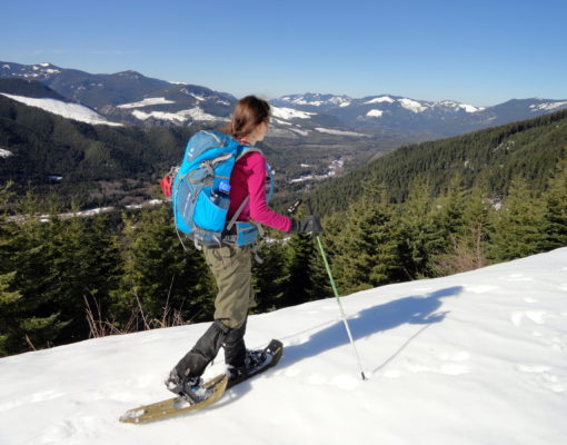 Dalles Ridge Snowshoe