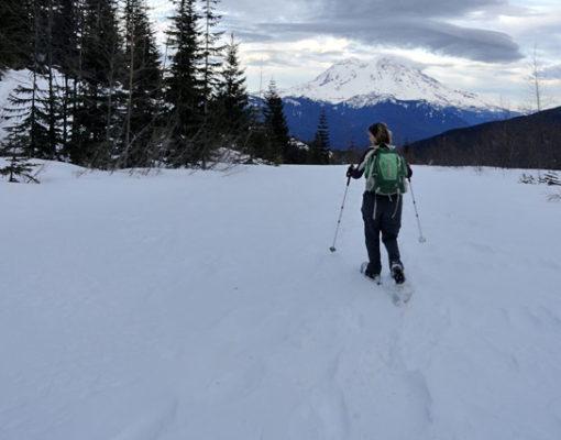 Anderson Lake Snowshoe