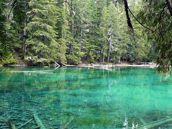 Lost Lake from Greenwater Lakes | Visit Rainier