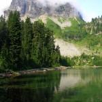 Cougar Lakes via the PCT