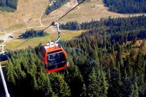 Gondola at Crystal Mountain Resort