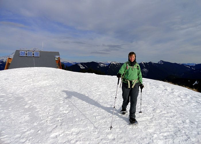 High Hut Snowshoe