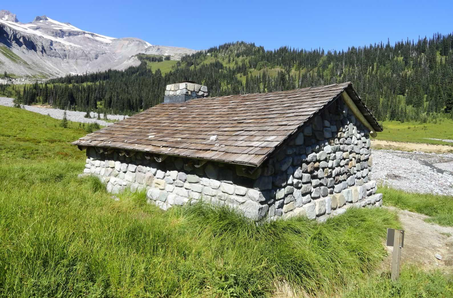 historic Indian Bar shelter