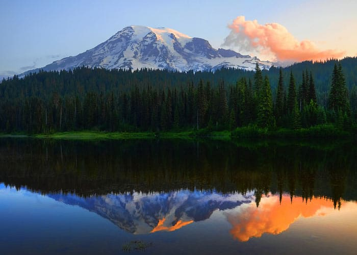 Reflection Lakes At Mount Rainier Visit Rainier