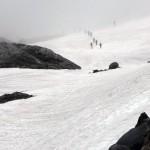 Moonwalk glacier