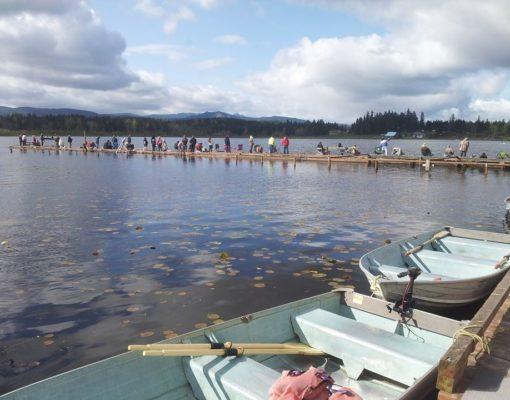 Fishing at Henley's Silver Lake Resort