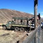 Tour truck for Oak Creek Elk tour