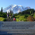 Steps with John Muir quote