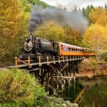 Fall Steam Train Rides at Mt. Rainier Railroad Photo Courtesy Allen's Photographic