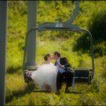 Silver Chalet Wedding