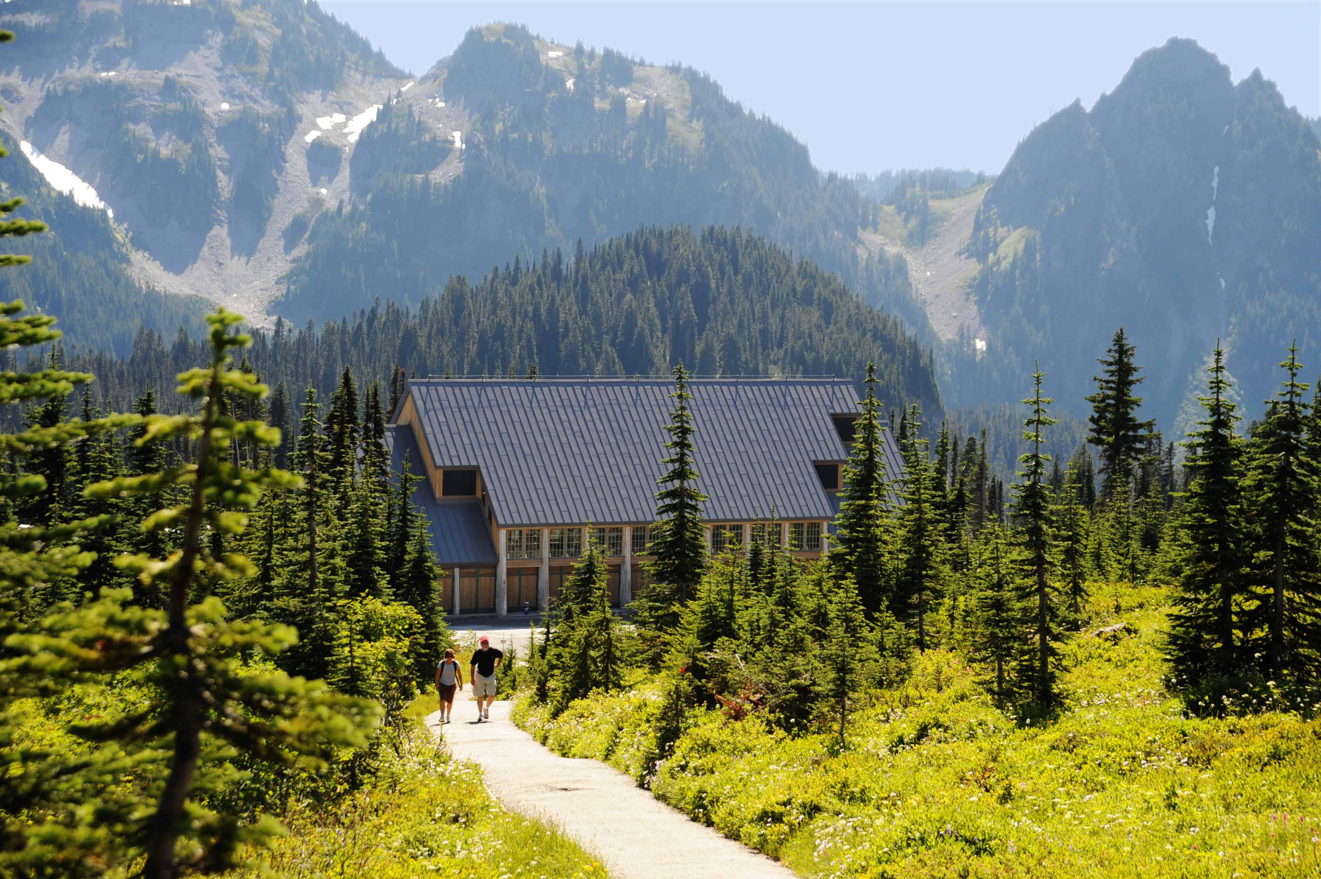 Visitor Center at Paradise, Mt Rainier National Park