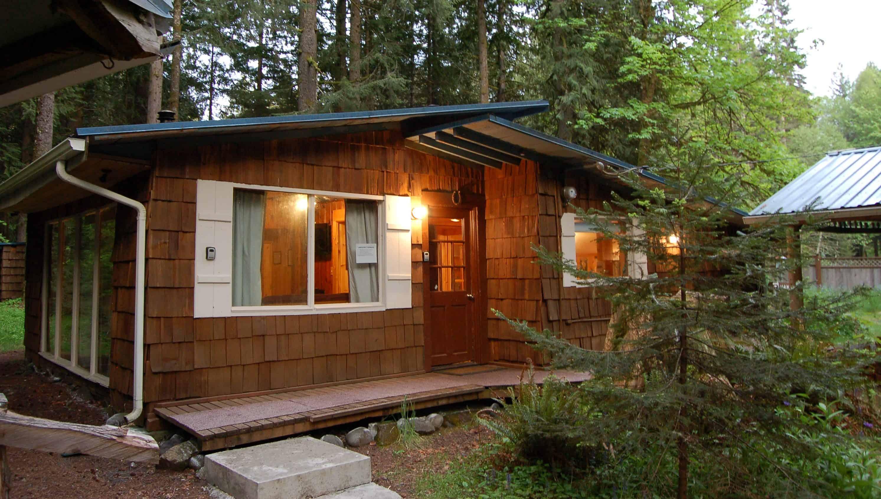 Stepping Stone Cabins Near Mount Rainier Visit Rainier