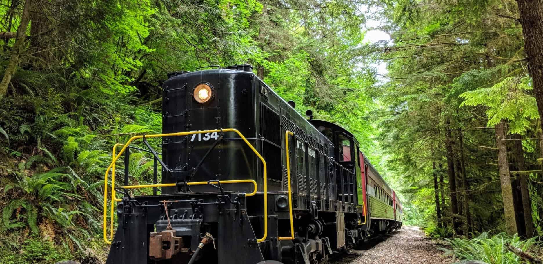 Mt Rainier Railroad Diesel Engine