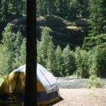 Tent camping at Little Naches Campground
