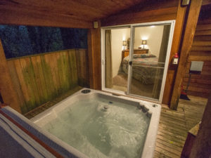 Almost Paradise Hot Tub Courtesy Walter Dorsett