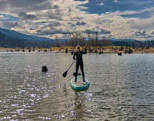 SUP at Alder Lake