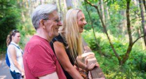Seniors at Northwest Trek Wlidlife Park