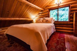 Glowing Pines Log Cabin