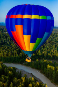 Hot Air Balloon Ride In Seattle