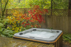 Altimeter Cabin hot tub