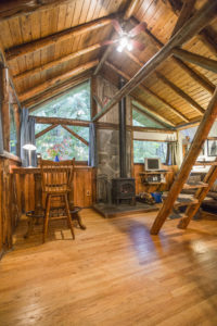 Altimeter Cabin living area