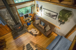 Altimeter Cabin - interior from above