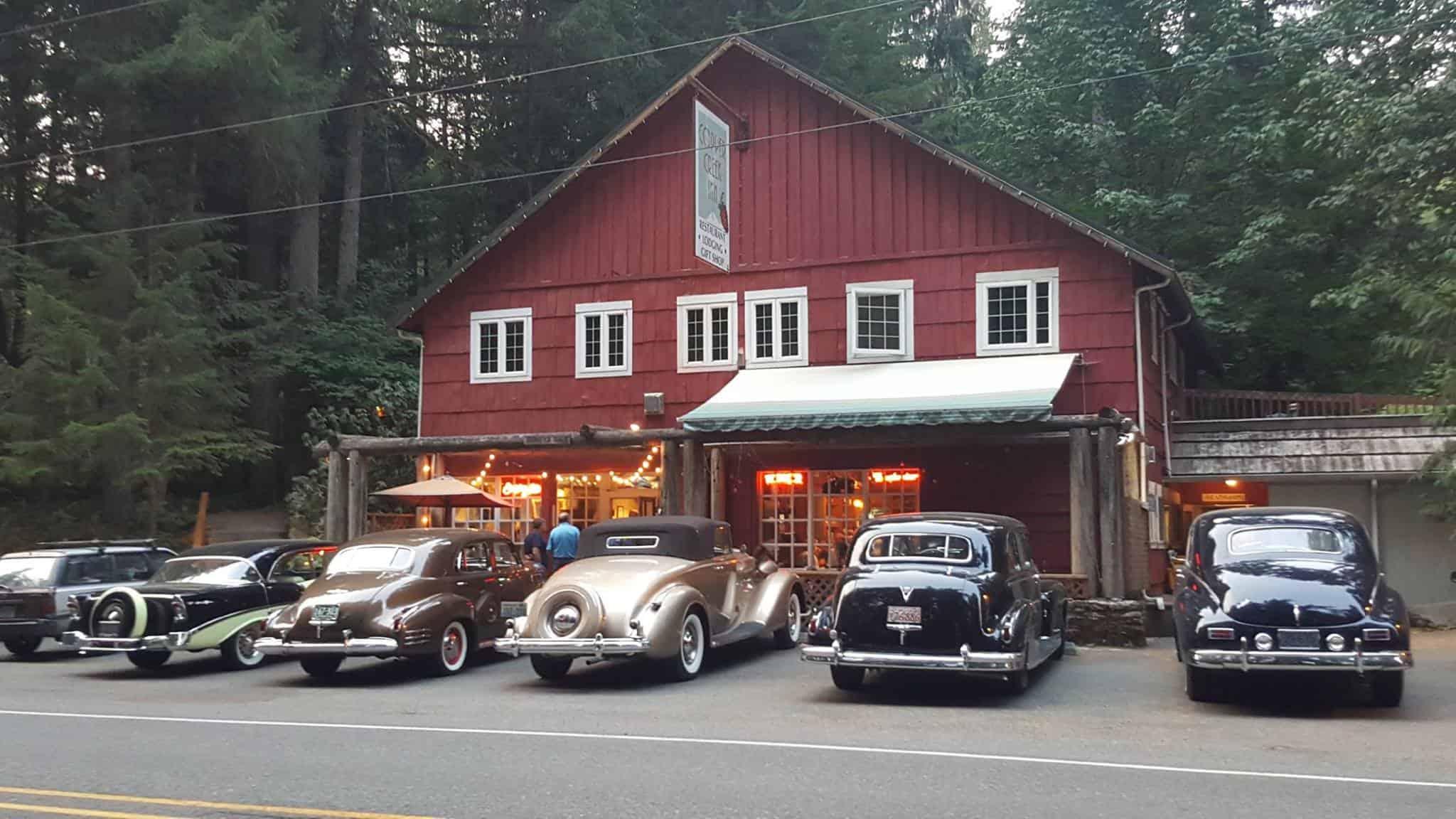 Copper Creek Exterior with Car Club