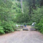 Campsite at Cottonwood Campground