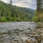 River at Cottonwood Campground