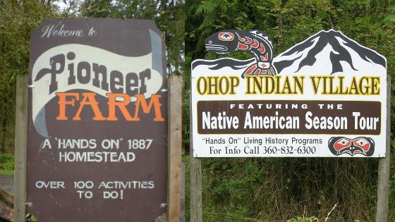 Pioneer Farm & Ohop Indian Village
