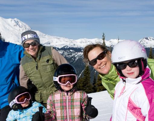 Family Skier